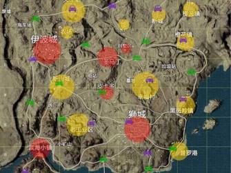 和平精英枫叶林地图资源点 各地图资源分布图