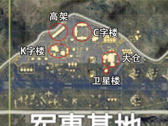 和平精英机场打法攻略